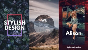 Instagram Story After Effects templates