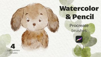 SOC0114-Procreate-LP-WatercolorPencil