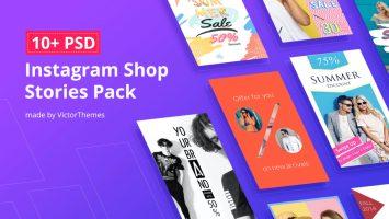 SOC137 - Instagram Shops LP - InstagramShopStoriesPack